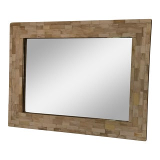 Moorish Style Ebony Mirror For Sale