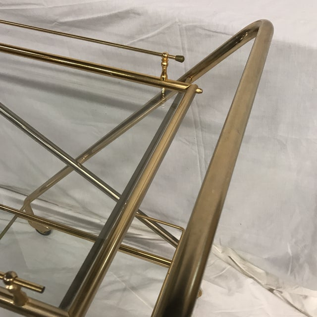 Mid-Century French Bar Cart - Image 4 of 8