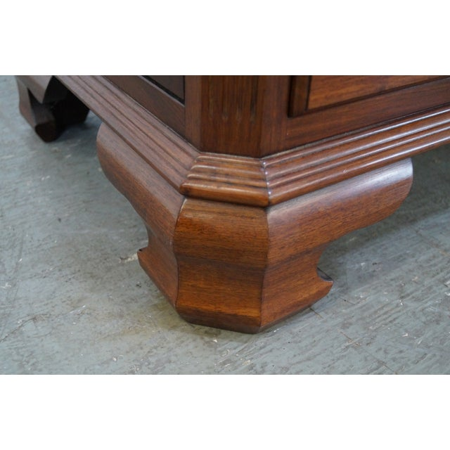 Brown Solid Mahogany Chippendale Georgian Court Dresser For Sale - Image 8 of 10