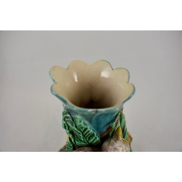 19th Century Royal Worcester Song Bird Posey Vase - Image 8 of 10