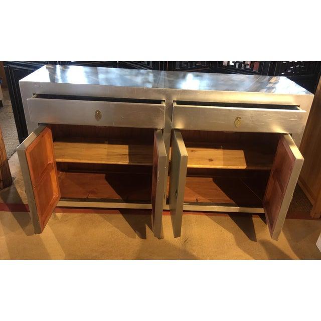 Modern Silver Dresser - Image 4 of 6