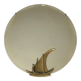 Nautical Round Mirror For Sale