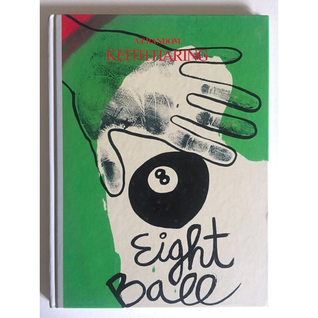 "Keith Haring ""Eight Ball"" 1989 Rare 1st Edition Japanese Hardcover Collector Art Book For Sale - Image 11 of 11"