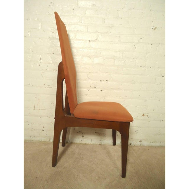 Adrian Pearsall Style Tall Back Chairs - a Pair - Image 3 of 7
