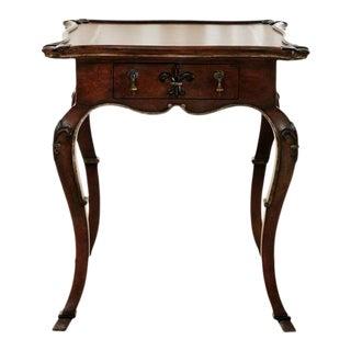 French Fleur-De-Lys Side Table For Sale