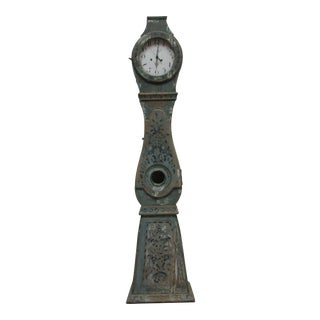 Early 19th Century Painted Swedish Mora Clock For Sale