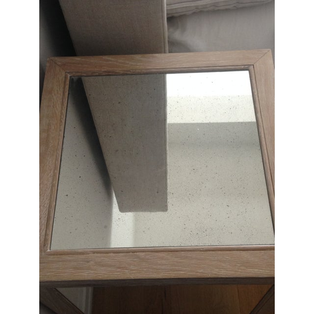 Made Goods Mirrored Mia Nightstand - Image 3 of 4
