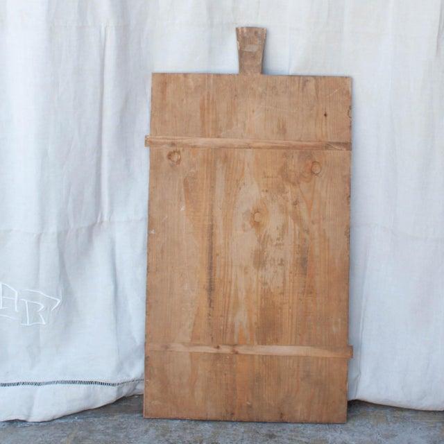 Vintage German Primitive Bread Board - Image 3 of 5