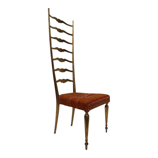 Italian Chiavari Accent Chair For Sale