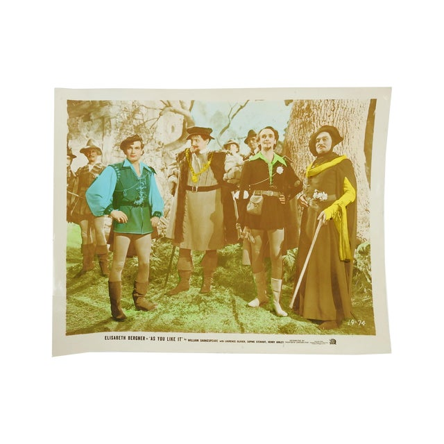 """Laurence Olivier In """"As You Like It"""" Vintage 1936 Photo - Image 2 of 4"""