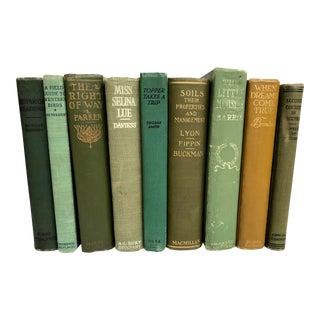 Green Books - Set of 9