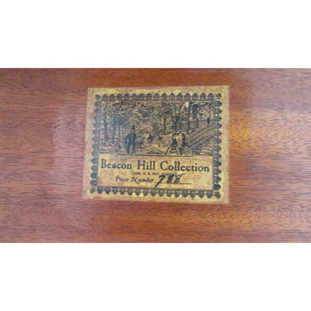 1940s 1940s Beacon Hill Collection Game Table For Sale - Image 5 of 10