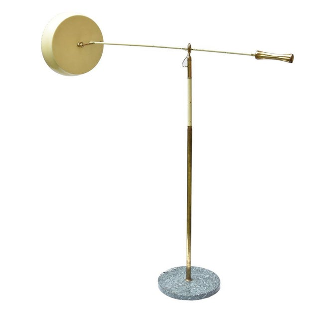 Angelo Lelii Angelo Lelli Design Floor Lamp For Sale - Image 4 of 11