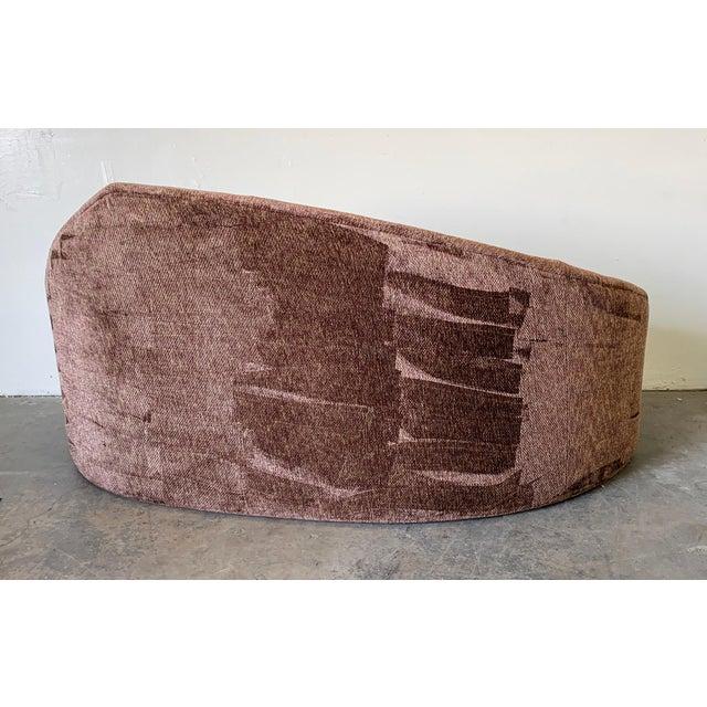 1990s Vladimir Kagan Style Biomorphic Post Modern Sofa For Sale - Image 5 of 6