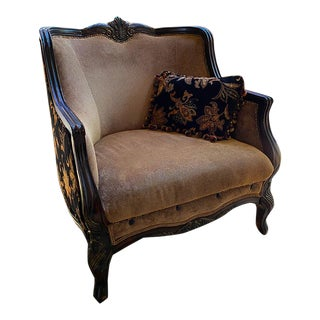 Rachlin Floral Embellished Chair For Sale