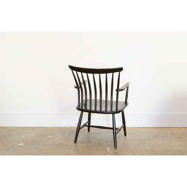 Mid-Century Modern Bengt Akerblom Easy Chair With Arms, 1960's for Nesto Sweden For Sale - Image 3 of 4