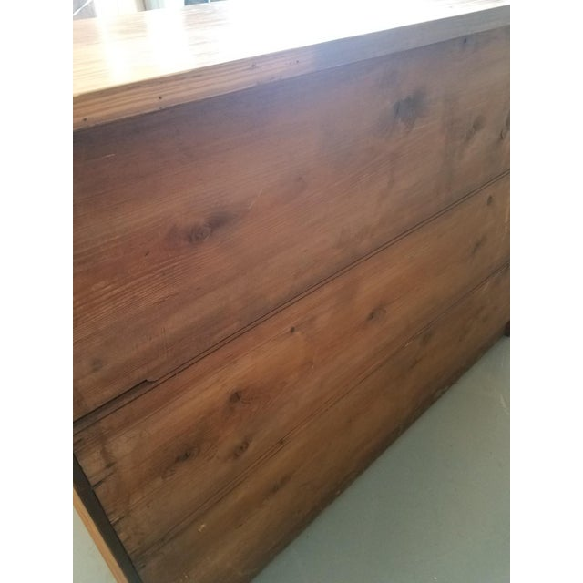 Brown United Kingdom Pitch Pine Chest of Drawers For Sale - Image 8 of 13