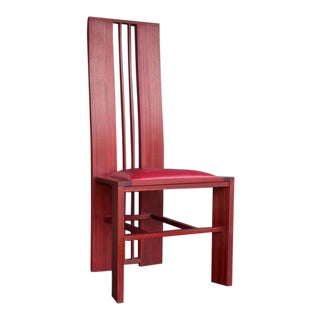 Thomas Moser Style Paduak Custom Chair