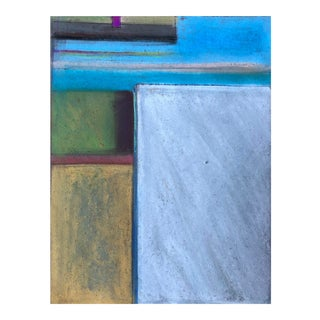 California Dreaming Abstract Original Pastel 6x8 For Sale