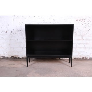 Paul McCobb Planner Group Mid-Century Modern Ebonized Bookcase Preview