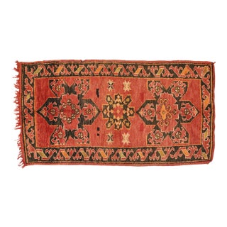 Vintage Berber Moroccan Rug - 04'01 X 07'06 For Sale