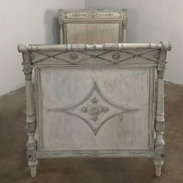 Late 19th Century 19th Century Painted Directoire Day Bed For Sale - Image 5 of 13