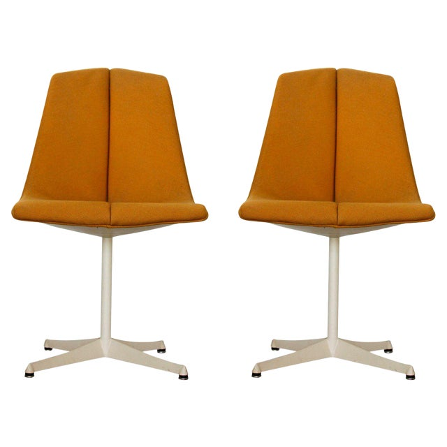 1960s Vintage Richard Schultz for Knoll Side Chairs- a Pair For Sale