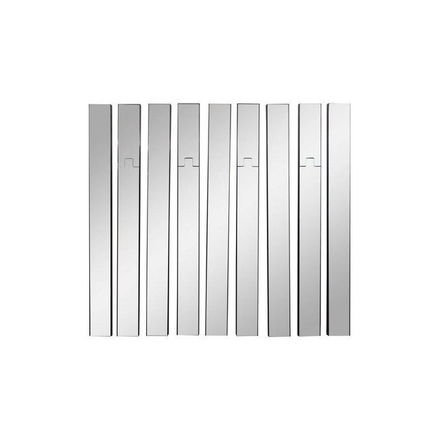 Modular mirrored coat rack by Luciano Bertoncini for Elco Consisting of nine elements, five completely mirrored wall...