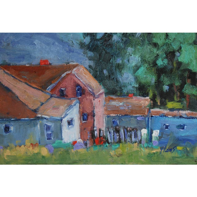 Original Oil Painting Landscape, Fort Bragg California For Sale In San Francisco - Image 6 of 13
