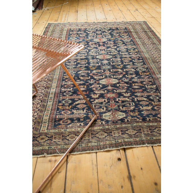 """Antique Shirvan Rug - 4'3"""" x 6'7"""" For Sale - Image 9 of 11"""