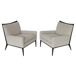 Vintage Paul McCobb Lounge Chairs for Directional - a Pair For Sale
