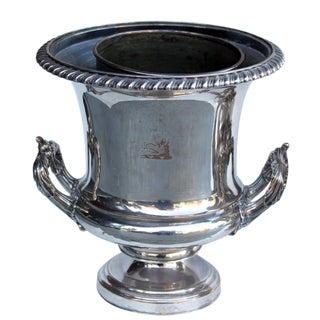 20th Century Wine Bucket With Armorial Crest For Sale