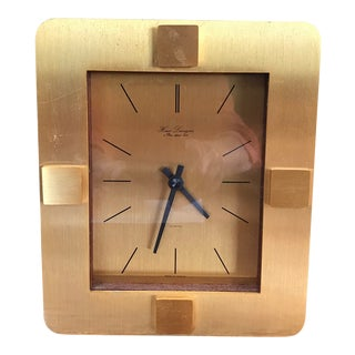 Hour Lavigne Mid-Century Modern Table Clock For Sale