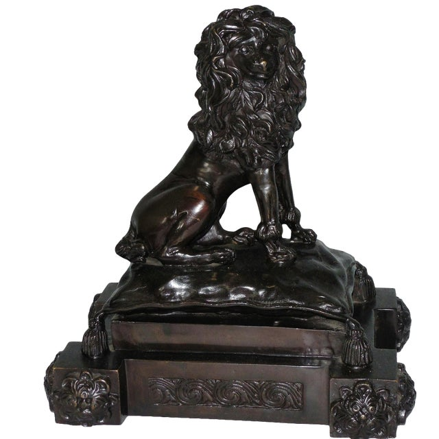 Bronze French Poodle Sculpture - Image 1 of 8