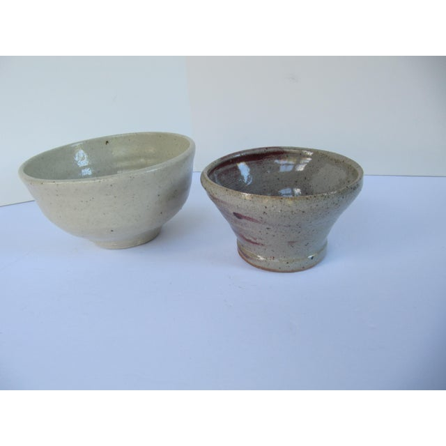Handmade Pottery Serving Bowls-2 Pieces - Image 2 of 4