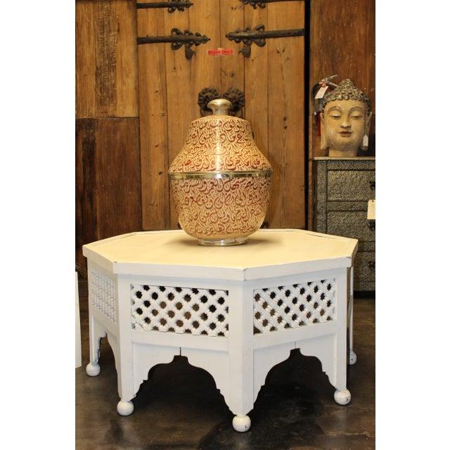 Moroccan Ceramic Arabic Calligraphy Vase - Image 5 of 6