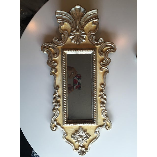 Vintage Venetian Mirrors - a Pair - Image 3 of 6