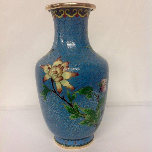 Meiji Japanese Cloisonné Vase - Image 3 of 9