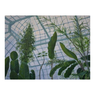 Greenhouse Painting by Stephen Remick For Sale