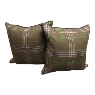 Paul Smith Throw Pillows - A Pair For Sale