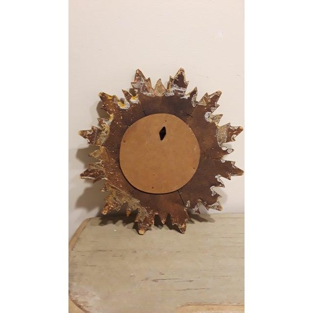 Vintage Sunburst Mirror - Image 3 of 4