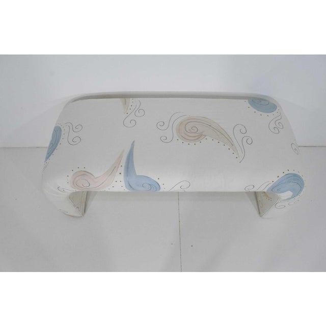 1980s Vintage Waterfall Bench For Sale In Dallas - Image 6 of 7