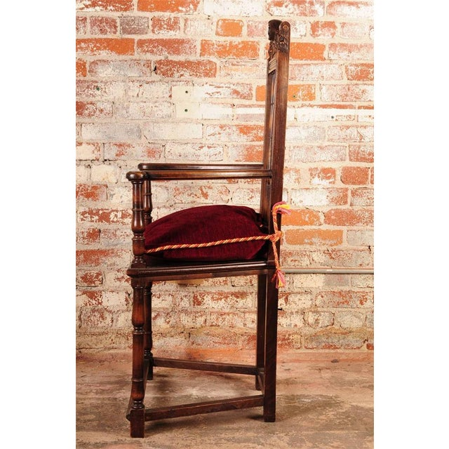19th Century Reinassance Side Chairs - A Pair - Image 6 of 11