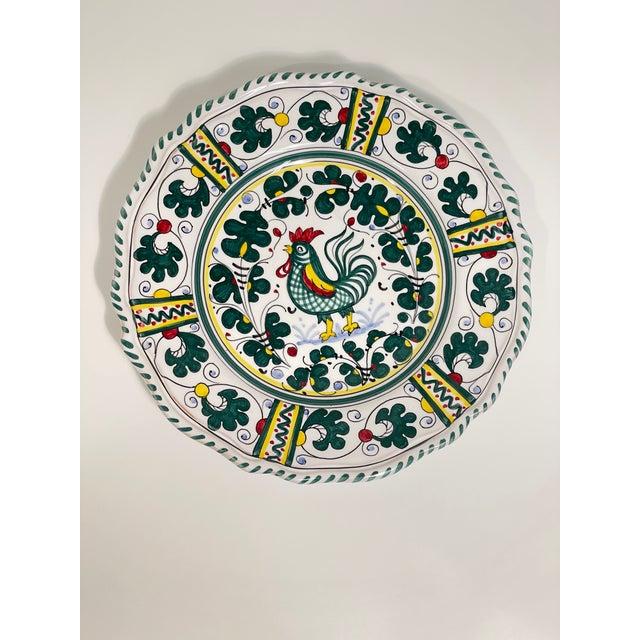 Orvieto Dinner Plate, Full Design - Set of 8 For Sale In San Francisco - Image 6 of 10