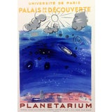 "Image of 1959 ""Planetarium"" Raoul Dufy Lithograph Art in Posters, Mourlot For Sale"