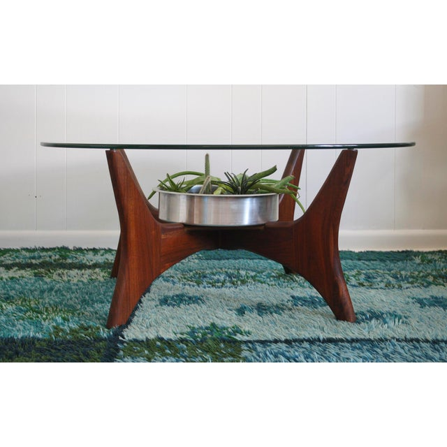 1649-PT Adrian Pearsall Coffee Table W/ Planter - Image 3 of 8