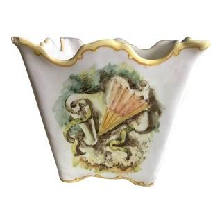 20th Century Italian A. Minghetti Pottery Bowl