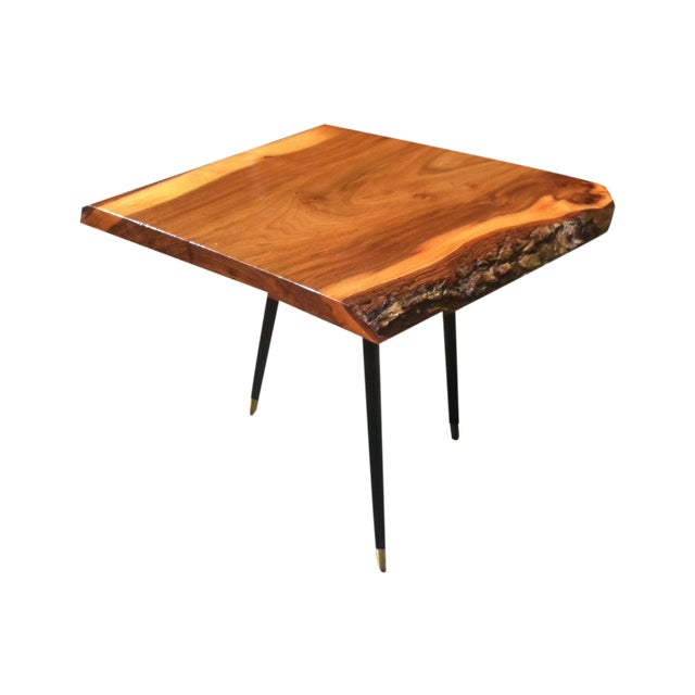 English Elm Live Edge Cocktail Table - Image 1 of 8