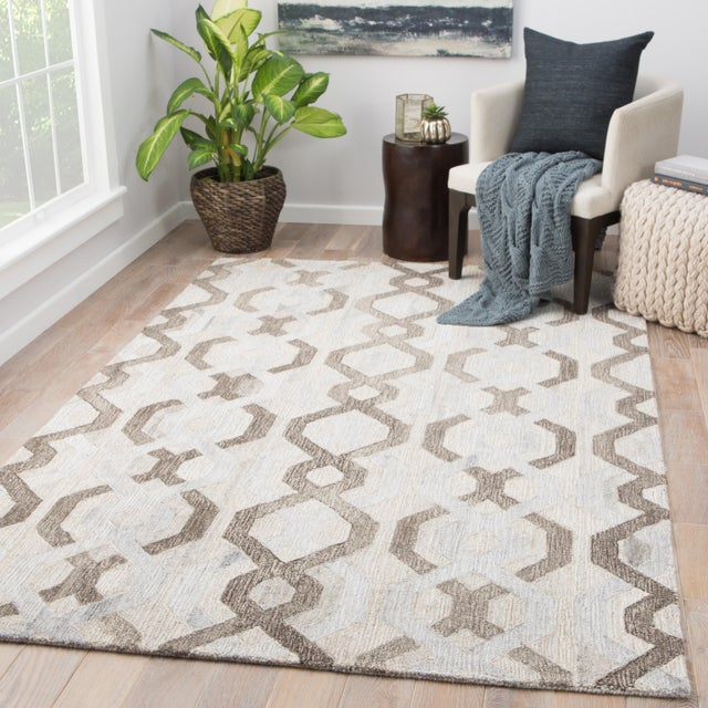 2010s Jaipur Living Fairfield Handmade Trellis Area Rug - 2′ × 3′ For Sale - Image 5 of 6