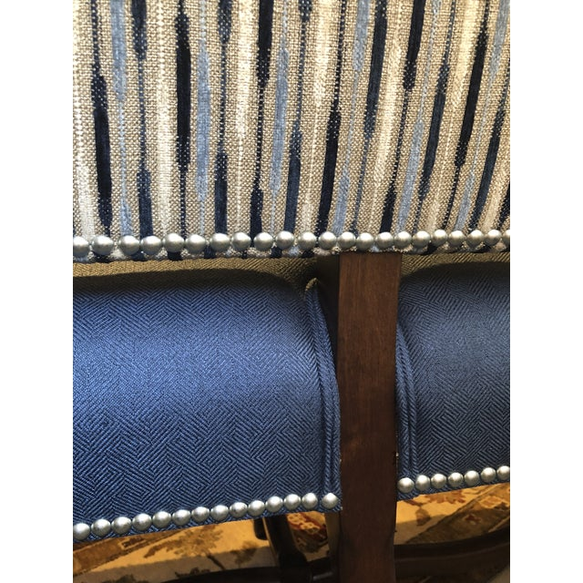 Traditional Banquette With Nails For Sale In San Francisco - Image 6 of 9